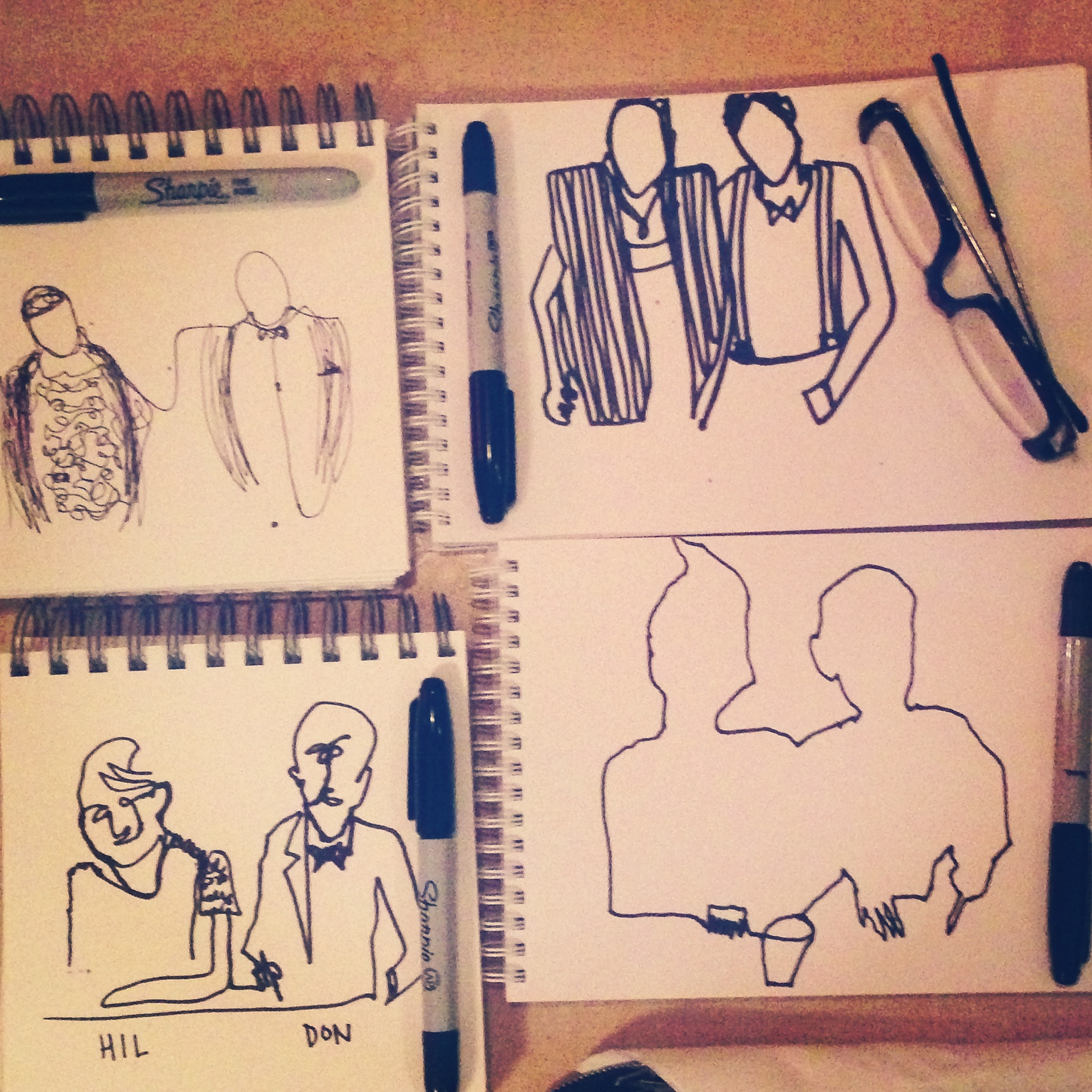 The Sketchbook Tour Gallery Drawn Together
