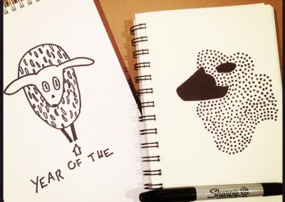 The Sketchbook Tour: Year of the Sheep Edition