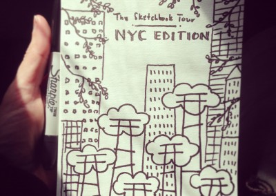 The Sketchbook Tour: NYC Edition