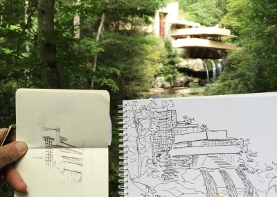 The Sketchbook Tour: Fallingwater Edition