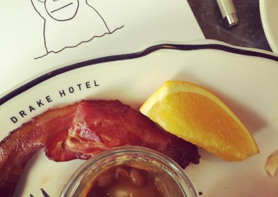Getting started over brunch at the Drake Hotel